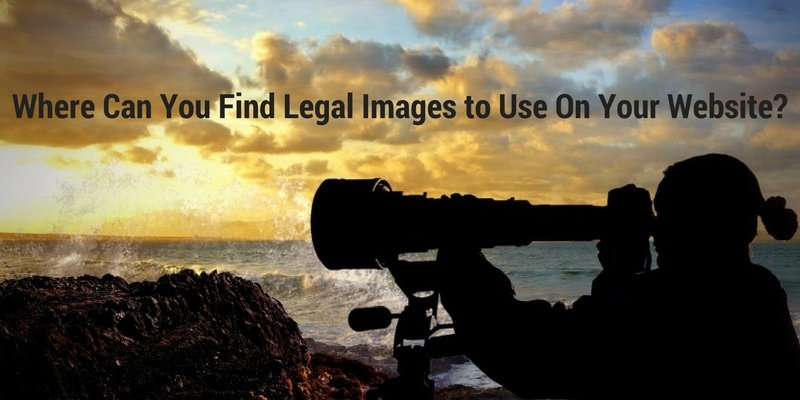 Where Can You Find Legal Images to Use On Your Website?
