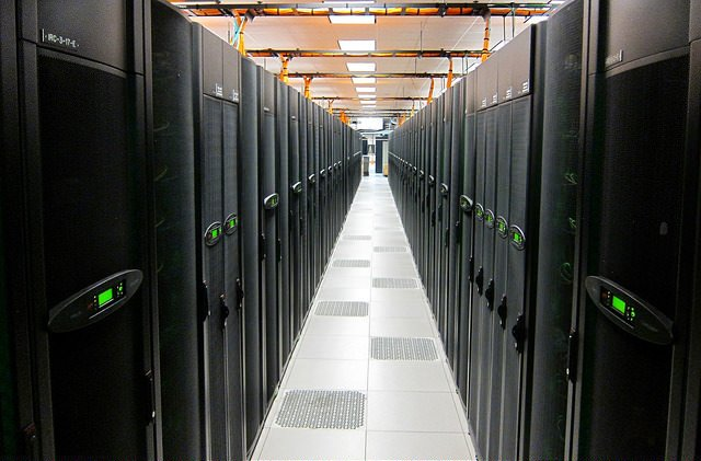 Image of a server farm